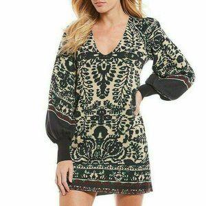 Free People Music & Lyrics Sweater Mini Dress. XS